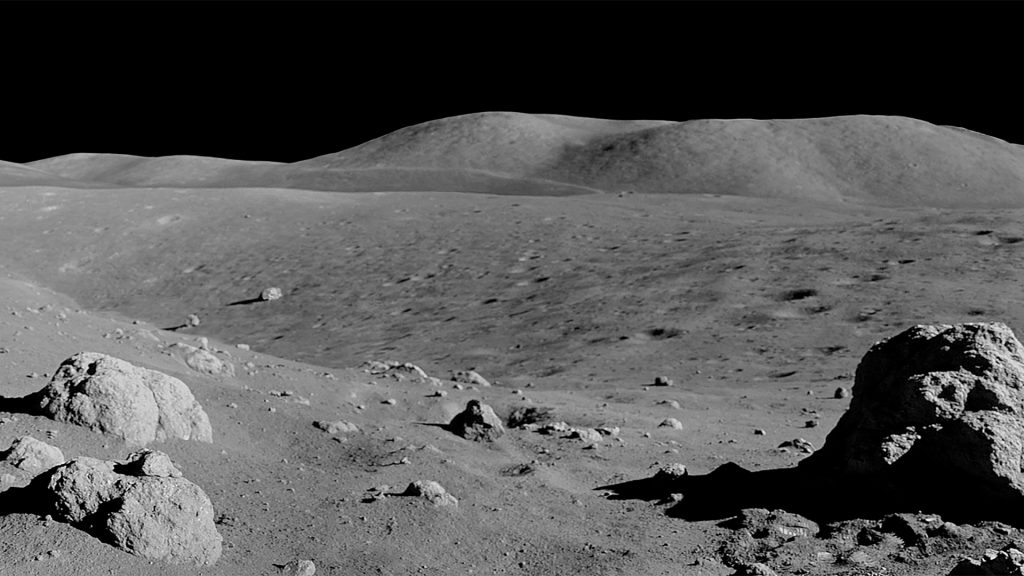 Moon Zoom Background