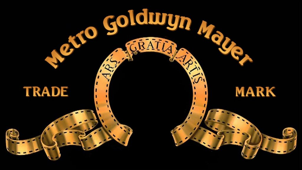Metro Goldwyn Lion Zoom Background