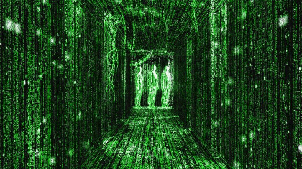 Matrix Zoom Background